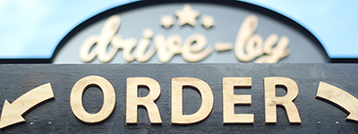 drive-by ORDER sign